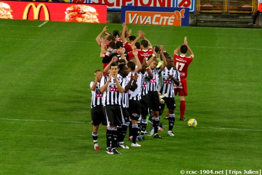 R.Charleroi.S.C. - K.V. Kortrijk. [Photos] [3-3] 100223042510994355503108