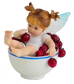 gifs animé - porcelaine ti ange mini tasse cerise