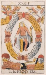 "La carte du tarot ""Le Monde"" 100309012655385005594727"