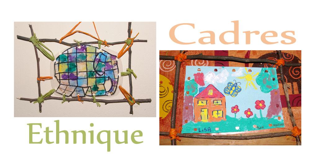 Très Ordinary Bricolage Cadre Photo Maternelle #8: Petit Cadres Fait  SF69