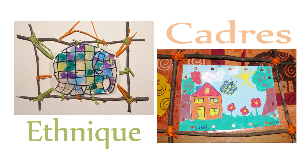 Beliebt Ordinary Bricolage Cadre Photo Maternelle #8: Petit Cadres Fait  AV07