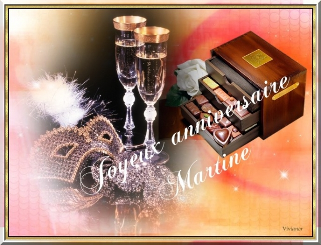 Bon Anniversaire Martine Le Coin Detente