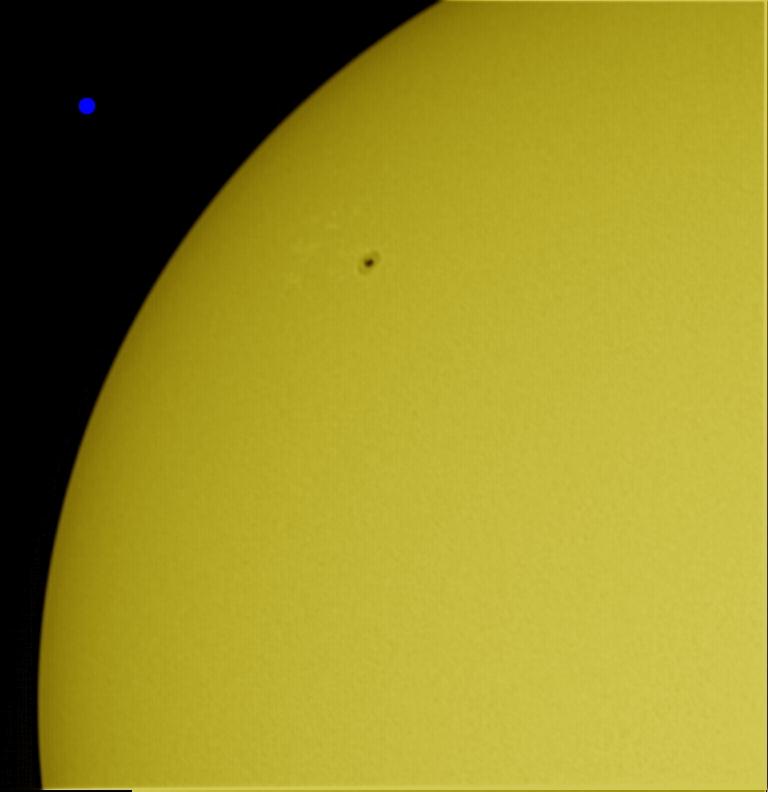 le soleil et quelques taches... 10032908002640455728570