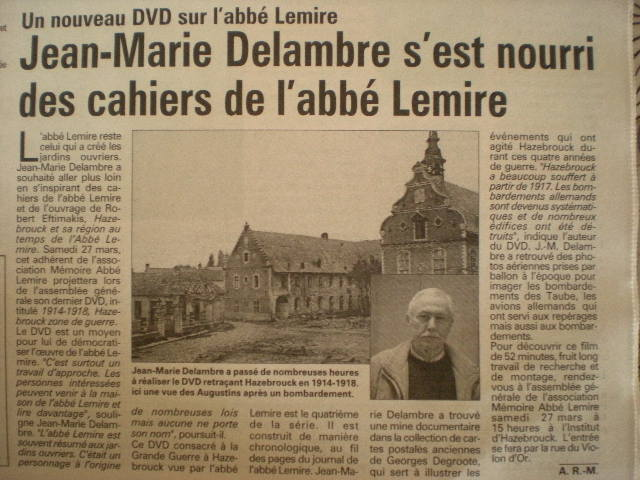 Priester Jules Lemire 100401092513970735749205