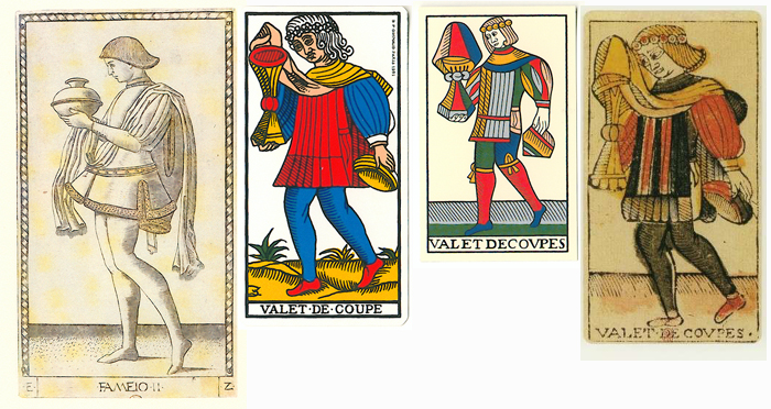 """La carte du tarot """"Valet de Coupes"""" 100402113945777135751264"""