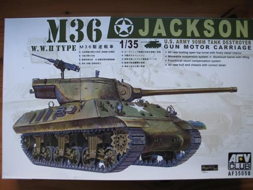 M36 jackson AFVclub 1/35 100404055910667015766365