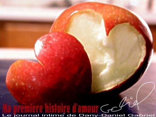 pomme coeur amour photographie dany daniel gabriel