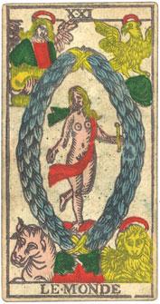 "La carte du tarot ""Le Monde"" 100406120619385005778532"