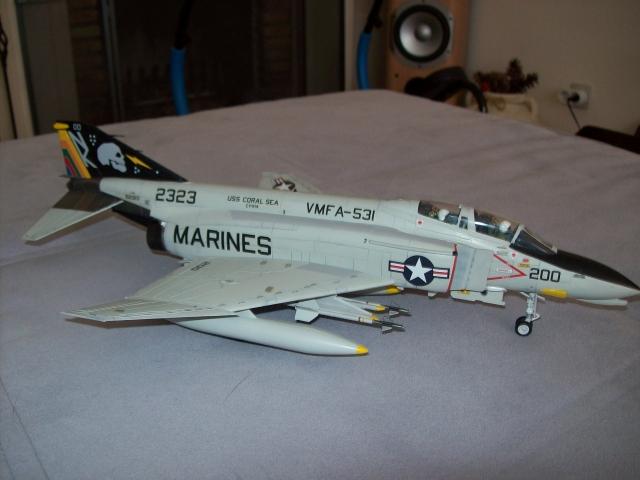 F-4N Phantom II VMFA-531 Grey Ghosts Hasegawa 1/48 100418013847860295856396