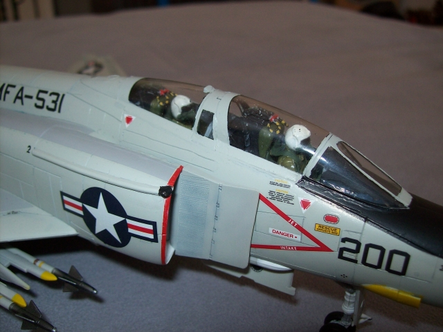 F-4N Phantom II VMFA-531 Grey Ghosts Hasegawa 1/48 100418013854860295856397