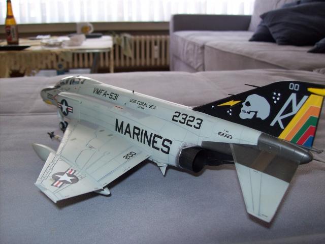 F-4N Phantom II VMFA-531 Grey Ghosts Hasegawa 1/48 100418013902860295856398