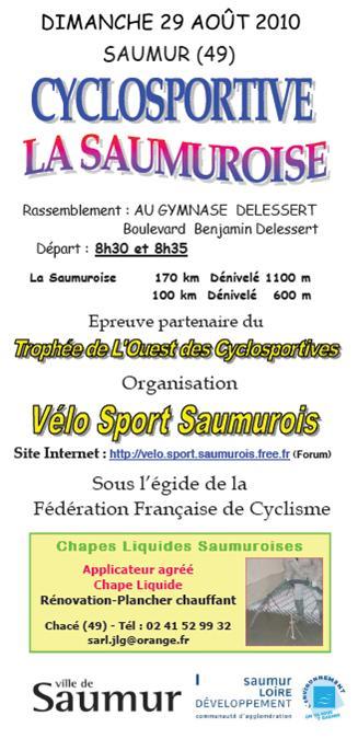 LA SAUMUROISE 2010 : INFOS ET INSCRIPTION 100422061714413835885572