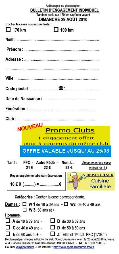 LA SAUMUROISE 2010 : INFOS ET INSCRIPTION 100422061905413835885578