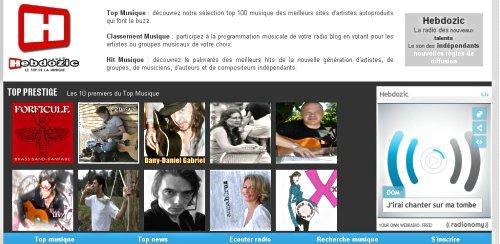hebdozik palmares 24 avril 2010