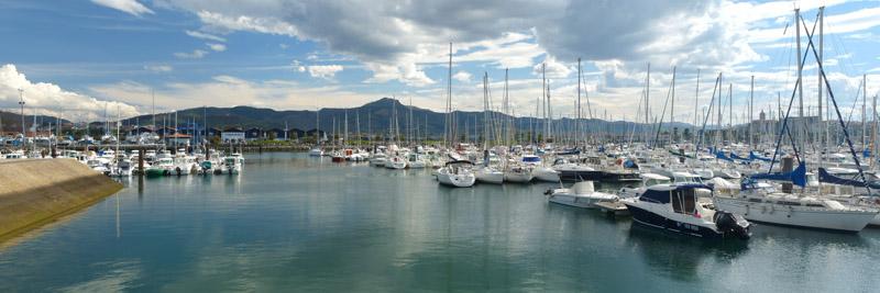 Le port d'Hendaye 1004251221541030085901451