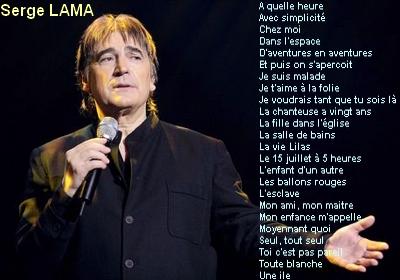 Serge Lama – Ses Plus Belles Chansons (2013)