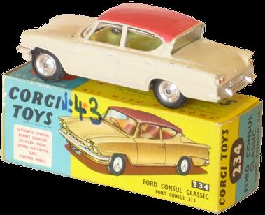 Coloris typiques des jouets des années 1960