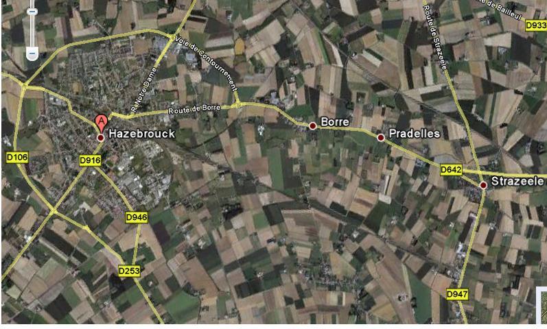 De as Rijsel-Boulogne via het Audomaarse groeit beetje bij beetje 100517124346970736049974
