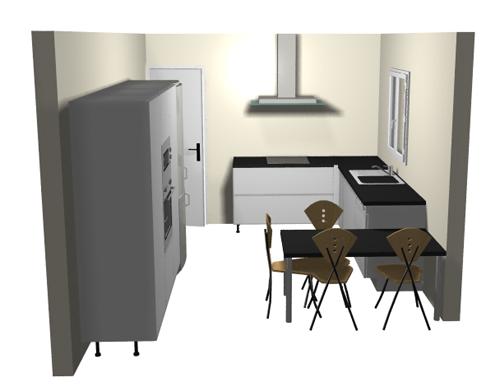 Idee implantation cuisine maison design for Logiciel implantation cuisine