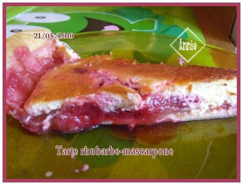 Tarte rhubarbe au mascarpone - Page 2 100521083017683836076140