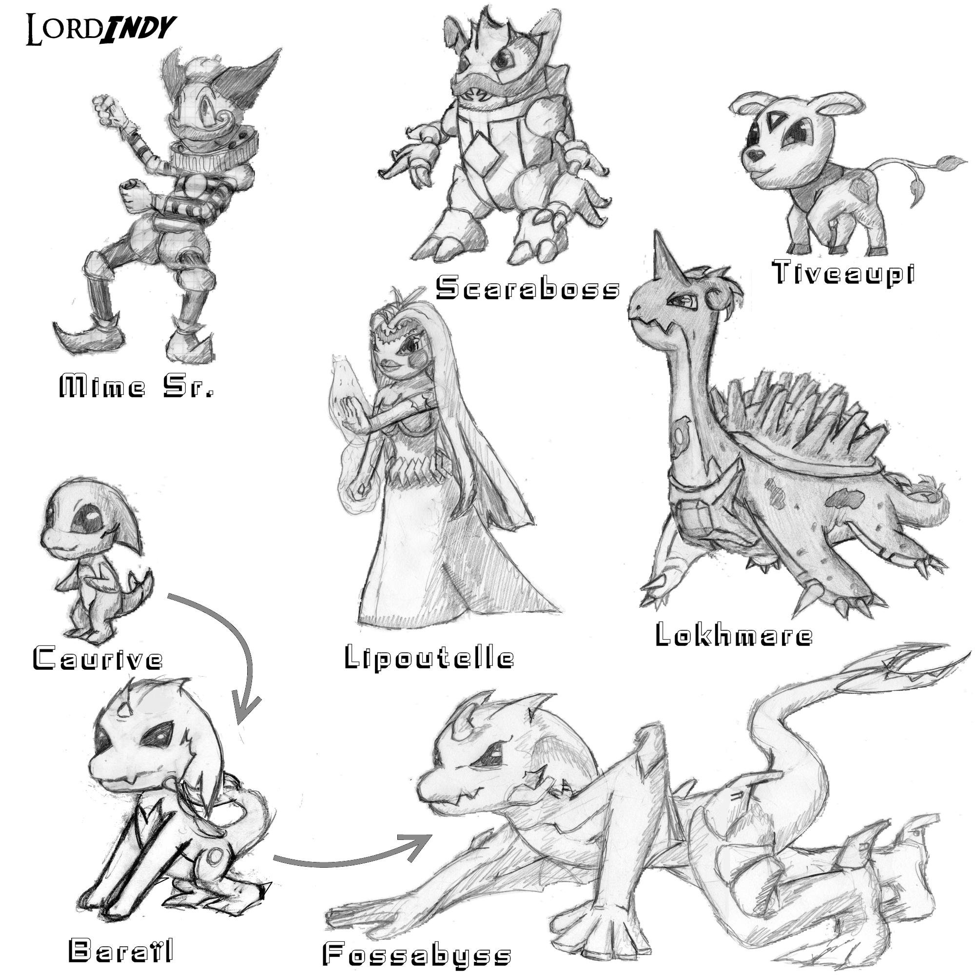 comment dessiner evoli
