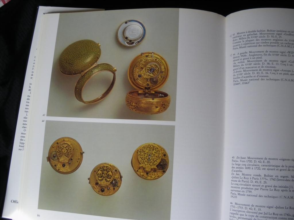 """[Livre] """"La montre des origines au XIXe siècle"""" 1005290520231080536125345"""