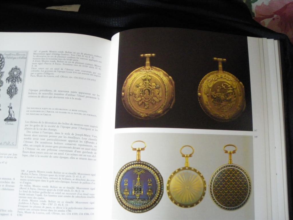 """[Livre] """"La montre des origines au XIXe siècle"""" 1005290521221080536125349"""