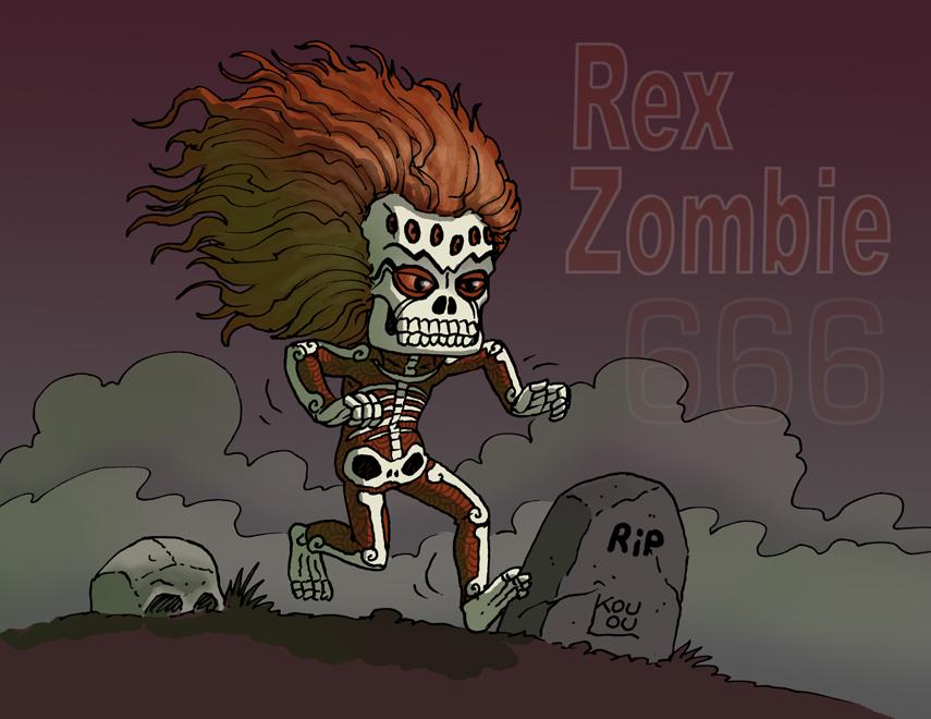 Rex Zombie - 666