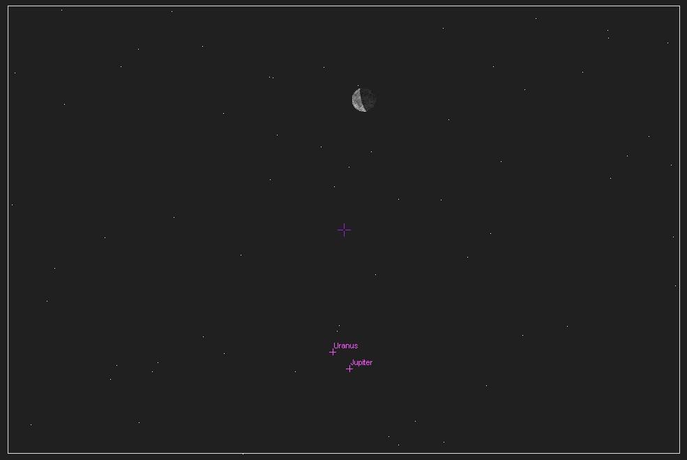 conjonction Lune - Jupiter - Uranus et Jupiter à la webcam... 10060607252340456176384