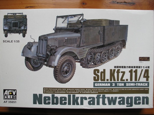 sdkfz 11/4 AFVclub+nebelwerfer 1/35 100608025408667016188586