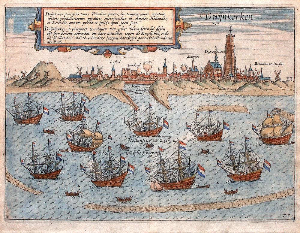 Oude kaarten, gravures en tekeningen van Frans-Vlaanderen 100618083911970736252919