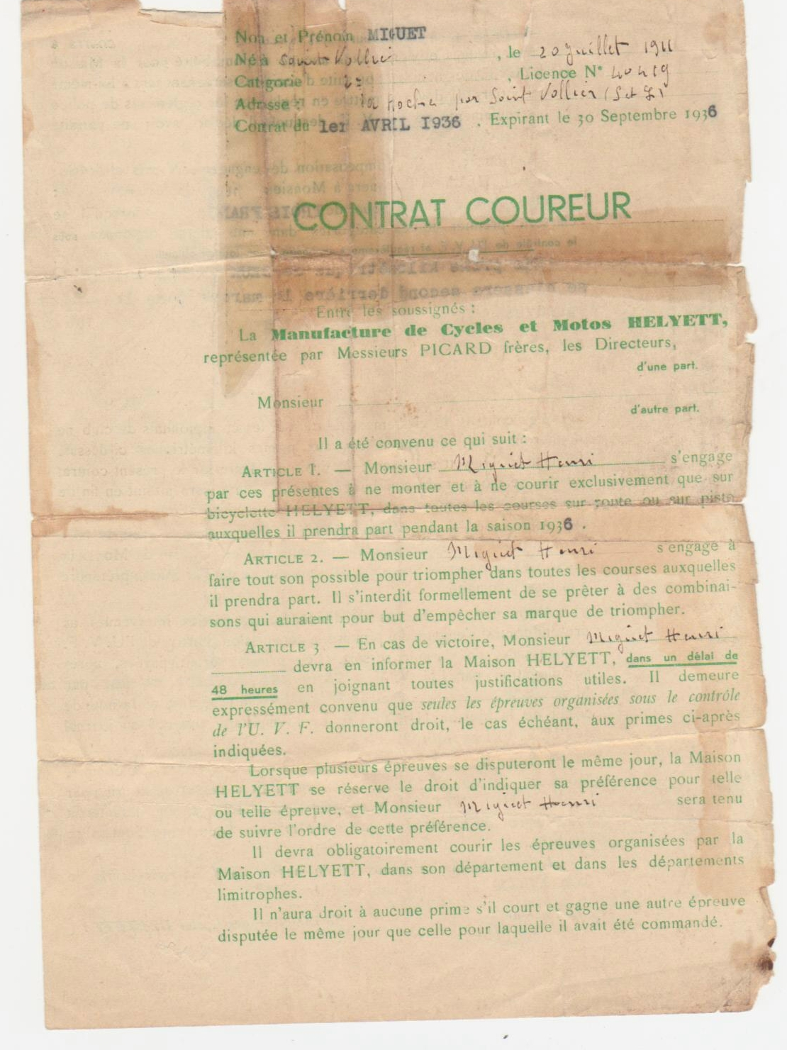 ContratcyclesHelyett1936