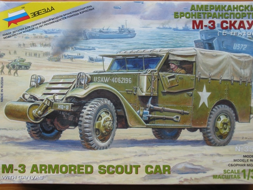 scout car version française Zvesda 1/35 100629073016667016319579