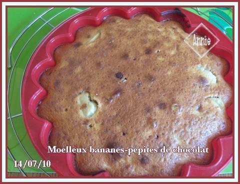 Moelleux aux bananes et pépites de chocolat + photos 100704070117683836346782