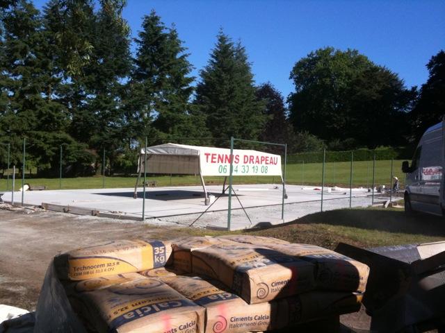 Remise en tat du cours ext rieur blog du tennis club de for Les echanges exterieur cours