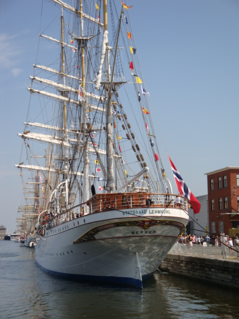 TALL SHIP RACE Anvers2010 & Cutty Sark race 1990(Zeebruges) 100711024654895286383833