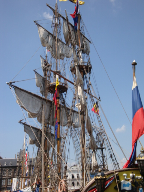 TALL SHIP RACE Anvers2010 & Cutty Sark race 1990(Zeebruges) 100711024937895286383863