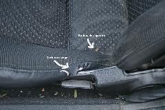 MX5 mienne - 33 detail defaut siege conducteur