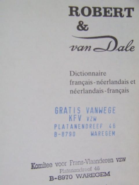 Nederlandse leerboeken, grammatica's en woordenboeken voor franstaligen 100717040316970736417435
