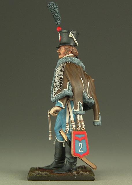 Vitrine de Bernard.S (Métal Modèles, bien entendu...) Trompette des 9ème et 7ème Hussards 100719012901359346425922
