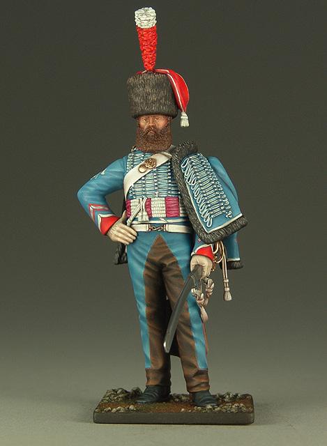Vitrine de Bernard.S (Métal Modèles, bien entendu...) Trompette des 9ème et 7ème Hussards 100719012945359346425925