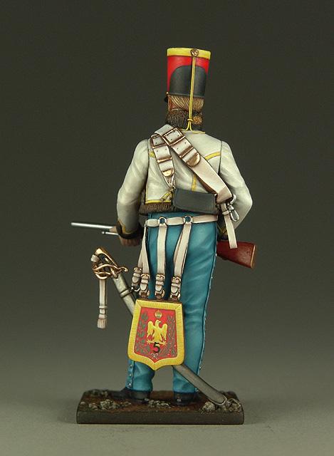 Vitrine de Bernard.S (Métal Modèles, bien entendu...) Trompette des 9ème et 7ème Hussards 100719013110359346425934
