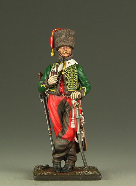 Vitrine de Bernard.S (Métal Modèles, bien entendu...) Trompette des 9ème et 7ème Hussards 100719013219359346425937