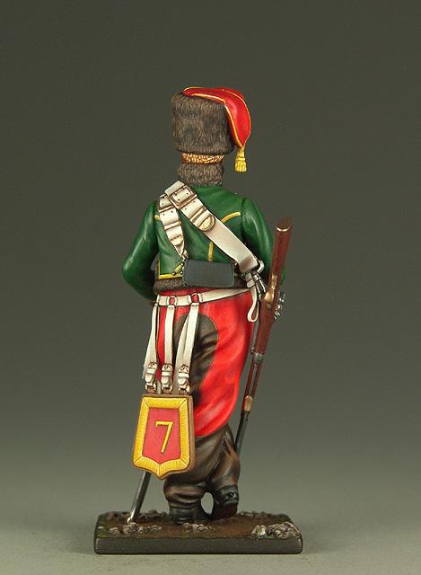 Vitrine de Bernard.S (Métal Modèles, bien entendu...) Trompette des 9ème et 7ème Hussards 100719013305359346425939