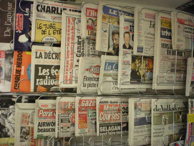 Kranten en boeken in het NL in onze boekhandels, krantwinkels en bibliotheken 100719014543970736427561