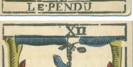 """La carte du tarot """"Le Pendu"""" 100719030351777136427974"""