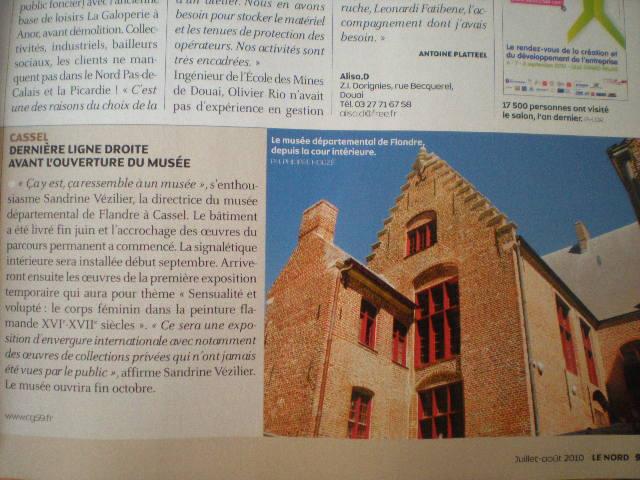 """Musée de Flandre"" in Cassel 100721080813970736440556"