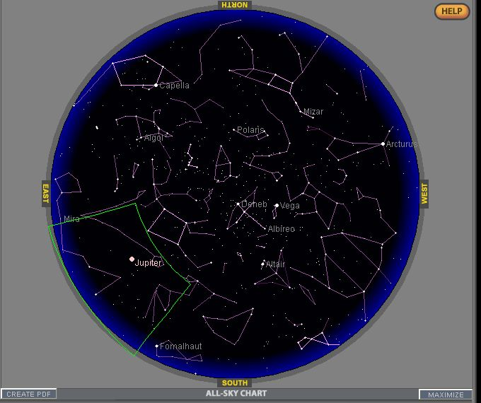 2010: Le 19 et 20/07 vers 00h/01h00 - étoile lumineuse qui s'éteint 100722014147927776441677