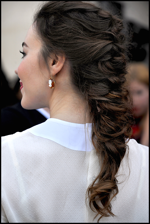 французская коса.