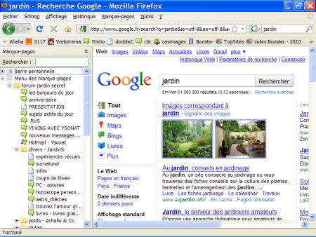 marques-pages (favoris) - FireFox 1007290600541135316481785